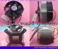 Hot 20 W 30 W 50 W 100 W alta potência levou dissipador de calor ventilador DC 12 V LED de alta potência lâmpada LED radiador 1 pçs/lote frete grátis