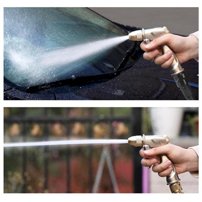 Многофункциональный водяной пистолет высокого давления для автомойки с расширяемым шлангом садовый распылитель для омывателя полива распылитель инструмент для очистки