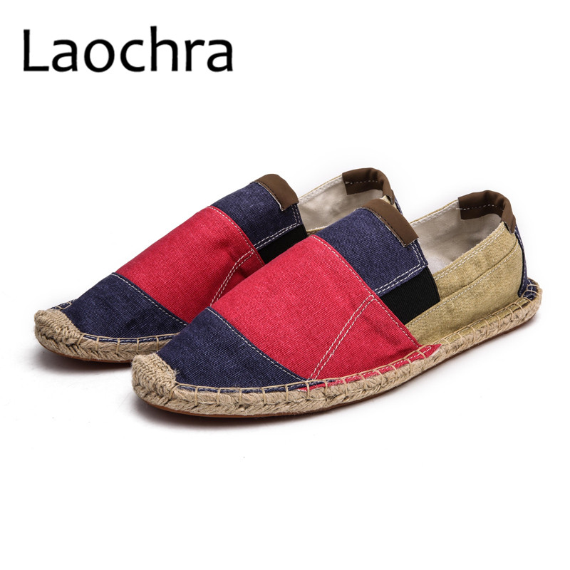 LAOCHRA Men Design Fishman Shoes Paris Famous Retro Style Espadrilles - Men's Shoes - Photo 3