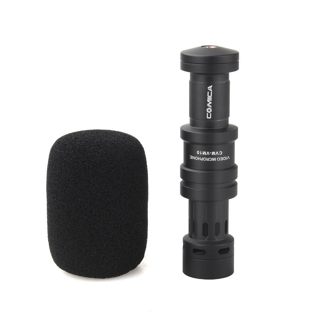 productimage-picture-comica-cvm-vm10-cardioid-directional-condenser-shotgun-video-microphone-for-dslr-smartphone-iphone-with-windscreen-wind-muff-33578