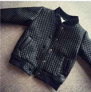 Image 3 - 2020 kids autumn winter clothes Children Jacket for baby Boys Outerwear Childrens PU Leather Coat black toddlers warm thick