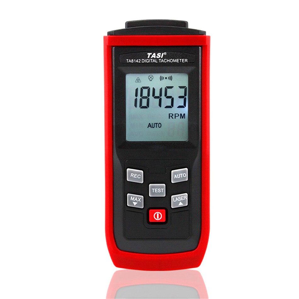 Tachymètre Laser numérique 2.5 tr/min ~ 99,999 tr/min tachymètre photoélectrique LCD compteur de vitesse