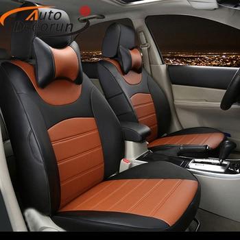 AutoDecorun Custom cover seat PU leather for Renault Kadjar 2017 2016 seat cover cars accessories seat cushion support 16PCS/set
