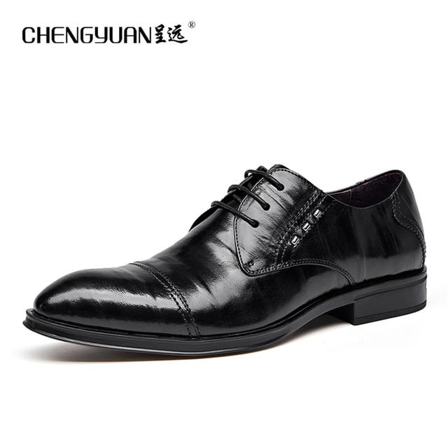 Chaussures automne à lacets noires Business homme vFBojwF3r