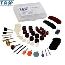 TASP 105 UNID Acessorios Bit Set Mini Taladro Dremel Accesorios de la Herramienta Rotatoria con 3.2mm Mandril