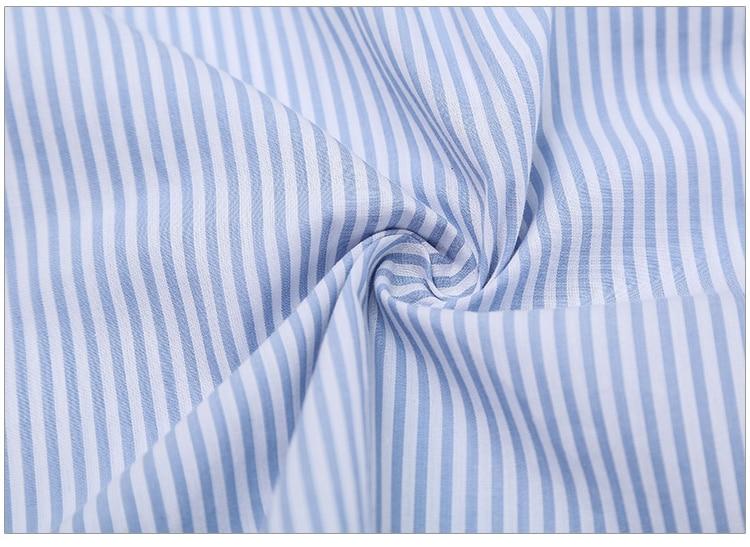 2017Fashion one shoulder Blue striped women shirt dress Sexy side split Elegant half sleeve waistband Casual beach dresses 15