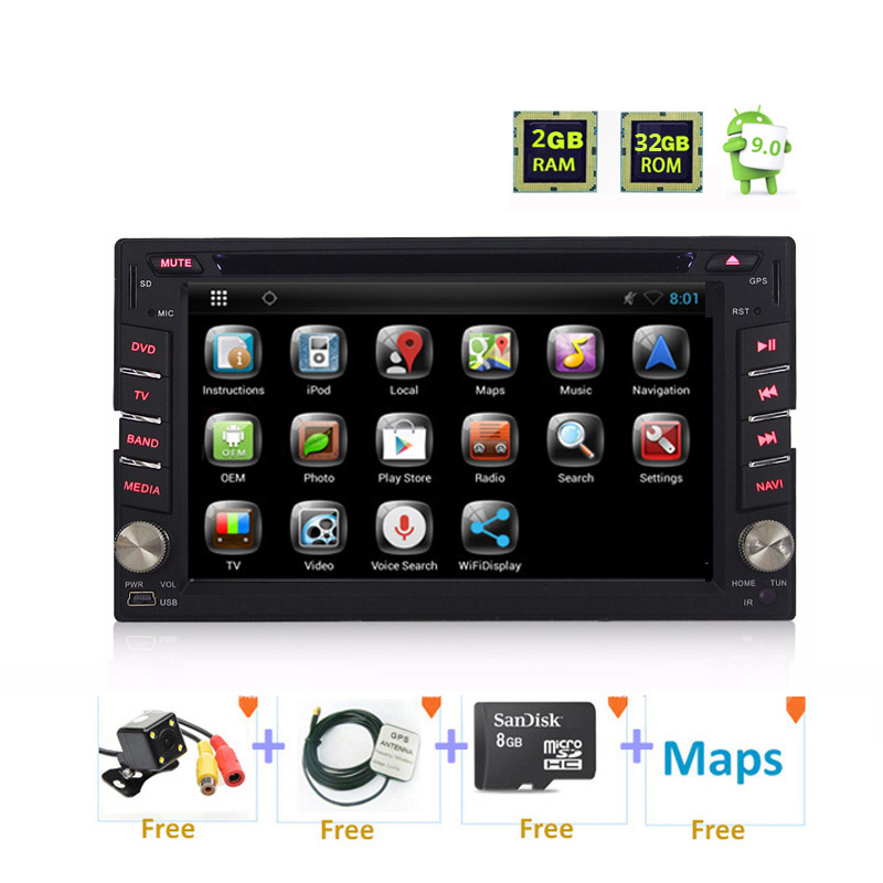 2 din Android WINCE Universal car Auto Radio 2din GPS DVD Multimedia For Nissan pathfinder Xtrail