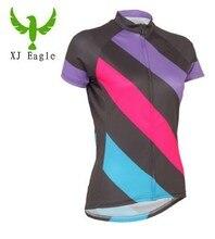 New Women Cycling Clothing Cycling Jersey Short Sleeve Sports Bike Top Bike Wear Jersey Girls Shirts
