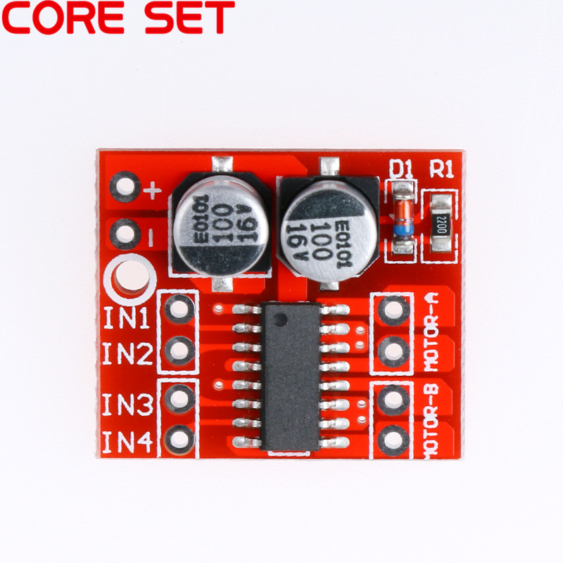 1 Pc 2 Channel Dc Motor Driver Module Reversing Pwm Speed Dual H Bridge Stepper Motor Mini Victory L298n