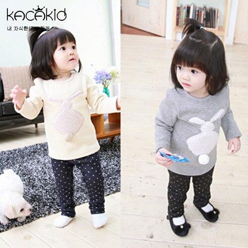 Kacakid-new-cute-baby-girls-shirts-kids-thick-cartoon-long-sleeved-T-shirt-plush-rabbit-Sweatshirts-children-cute-soft-coat-2