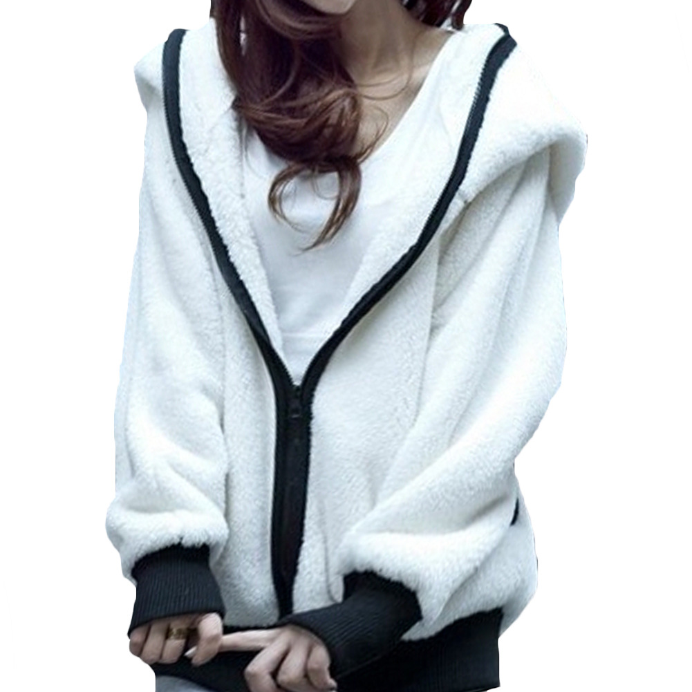 Bat wool sweater sweater cuff hat panda female coat