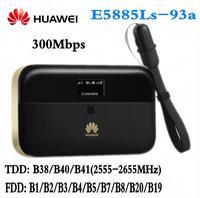 Аппарат не привязан к оператору сотовой связи HUAWEI E5885Ls 93a cat6 мобильный WI FI PRO2 с 6400 мА/ч, Мощность банк Батарея и один RJ45 LAN Ethernet Порты и разъёмы