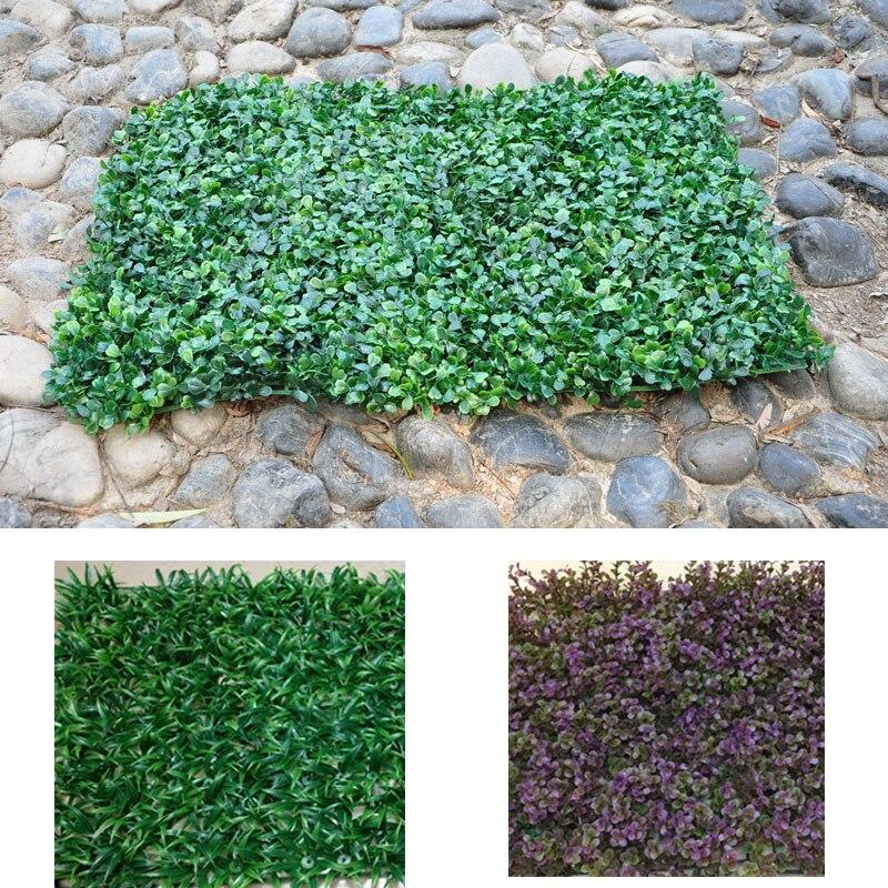 40x60cm Spring Grass eucalyptus Milan grass Leaf artificial lawn for garden decoration