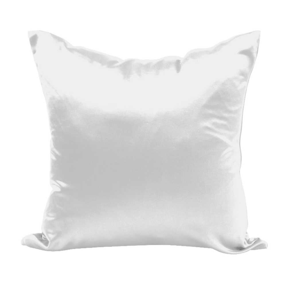 Para crianças/adulto fronha capa de travesseiro ambos os lados 100% seda fronha tamanho rainha fronha capa com zíper escondido
