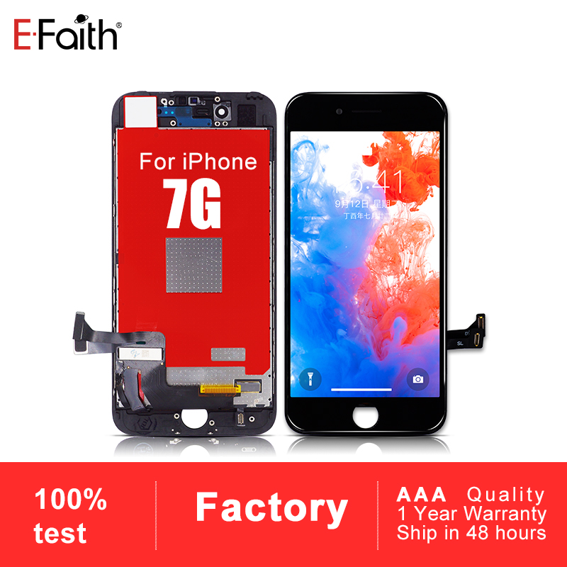 EFaith 10PCS Good Quality for iPhone 7 LCD Screen Display 4 7 inch Screen Touch Digitizer