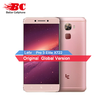LeEco LeTV Le Pro 3 Elite X722 смартфон 4 ГБ + 32 ГБ Qualcomm Snapdragon 820 4 ядра 5.5 дюймов Full HD Экран Android 6.0 4 г FDD-LTE