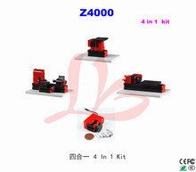 4 in 1 Mini Lathe Machine kit Z4000 for teaching and hobby