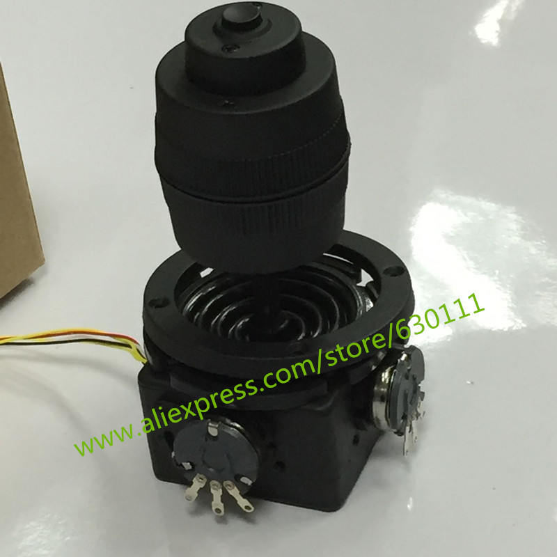 4 axis potentiometer Joystick 400 series Rocker hall joystick dimensional resistance 5K sealed with button joystick