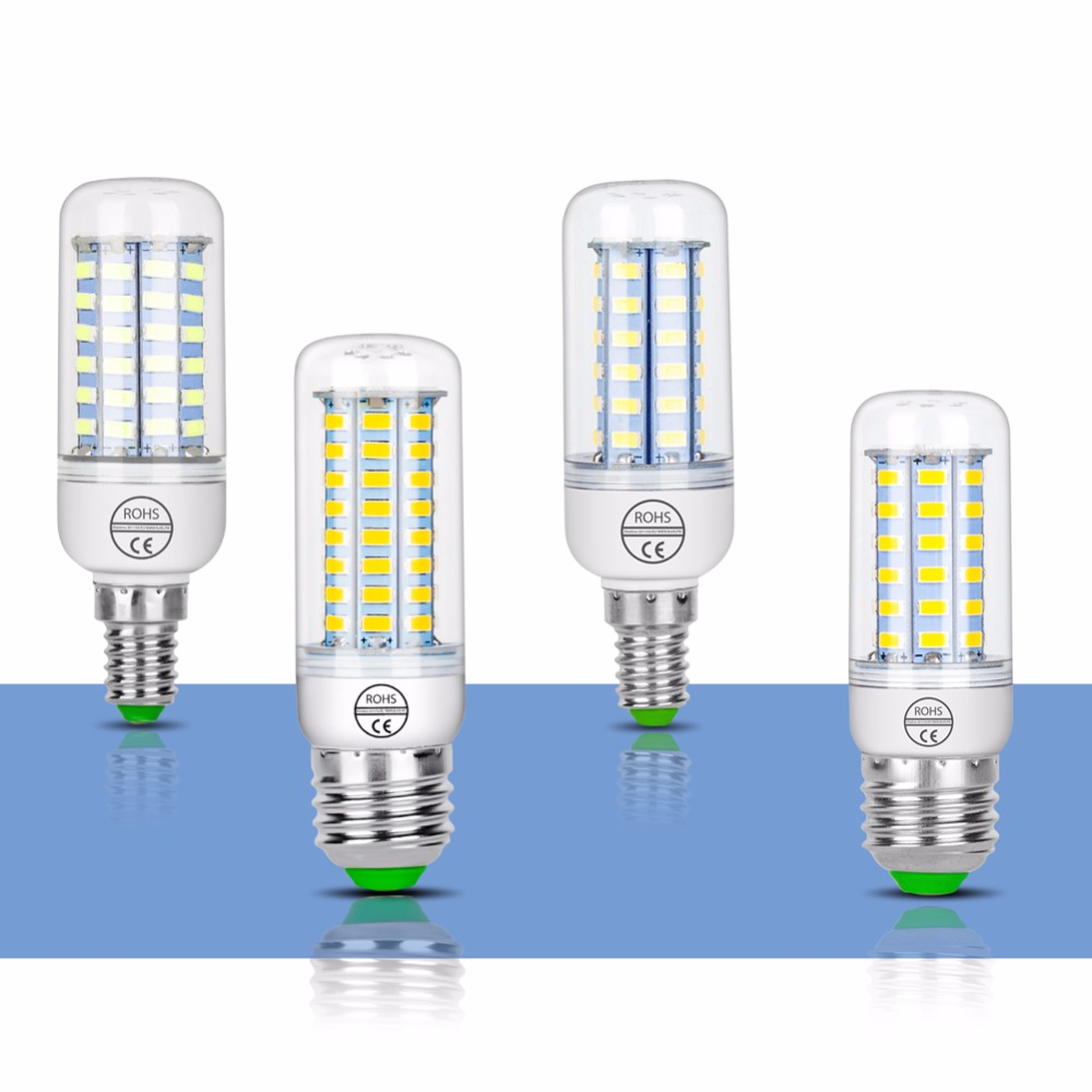 Led Corn Bulb E27 Lamp 220v E14 Candle Led Bulb Gu10 Bombillas 24 36 48 56 69 72leds Light 240v Chandelier Lampada For Home 5730 Strengthening Waist And Sinews Lights & Lighting Light Bulbs