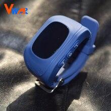 สีดำ/ขาวเดิมq50จีพีเอสสมาร์ทเด็กปลอดภัยsmart watchนาฬิกาข้อมือsosสถานที่ตั้งfinder l ocatorติดตามต่อต้านหายไปตรวจสอบ