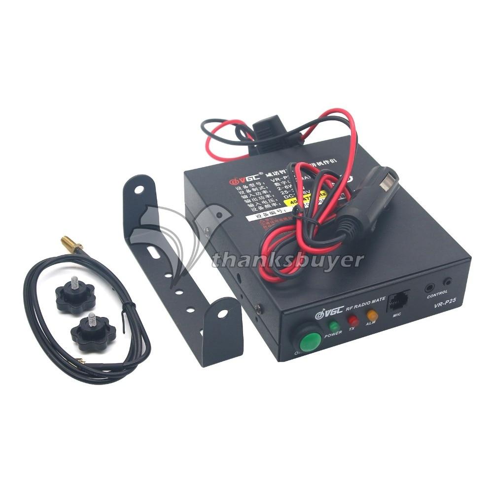 UHF RF Ham Radio Power Amplifier FDMA for Interphone Walkie-talkie D-STAR C4FM dPMR P25