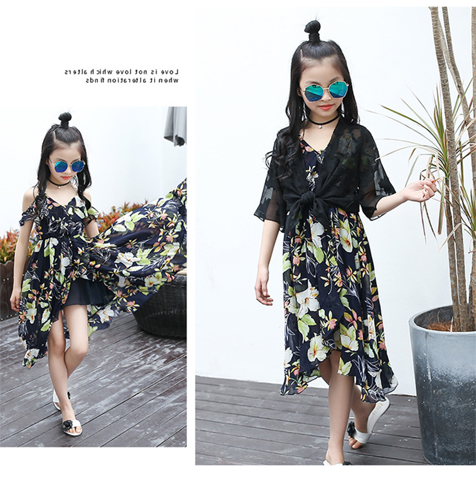 HTB15WMdbtrJ8KJjSspaq6xuKpXaP - Girls Dress Bohemia Style Dresses Girls Sleeveless Floral Dress For Adolescents 8 10 12 Big Kids Girls Clothes