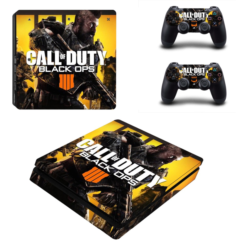 Game call of duty black ops 4 ps4 pro skin sticker