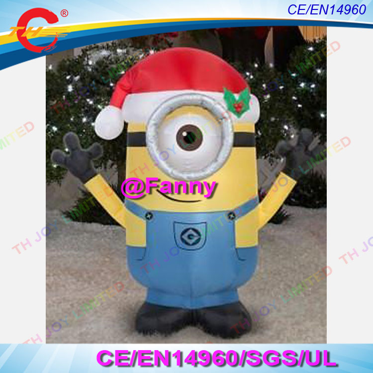 Online Shop 4m/13ft or 6m/20ft giant christmas minions inflatable ...