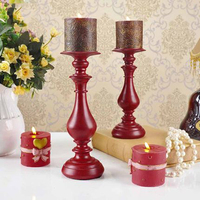 Brass Antique Candlesticks Holders Candle Stick Zniczccan Lantern Candle Chandelier Dekordlyadoma Glass Candlestick DDX56