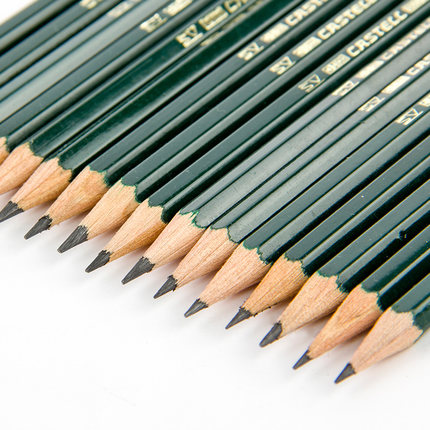 Jianwu 12pcs Set Faber Castell 9000 Advanced Sketching Pencil