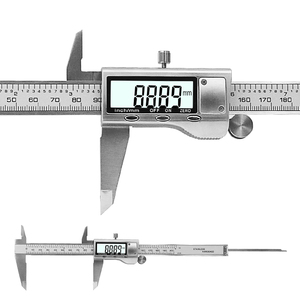 "Image 4 - 8"" 200mm Digital Caliper Stainless Steel  Digital LCD Caliper Vernier Caliper Shipping with Retail+Box"