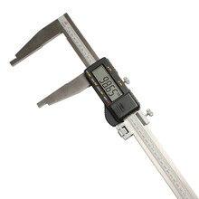Discount! SHAN Digital Caliper 0-1000mm/ 0.01mm Stainless Steel Gauge Micrometer LCD Paquimetro Ferramentas Measure Tools