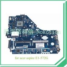 NOKOTION V5WE2 LA-9531P REV 1A NBMFP11005 NB. MFP11.005 Für acer aspire E1-572G laptop motherboard core i5-4200U 8670 Mt Grafiken