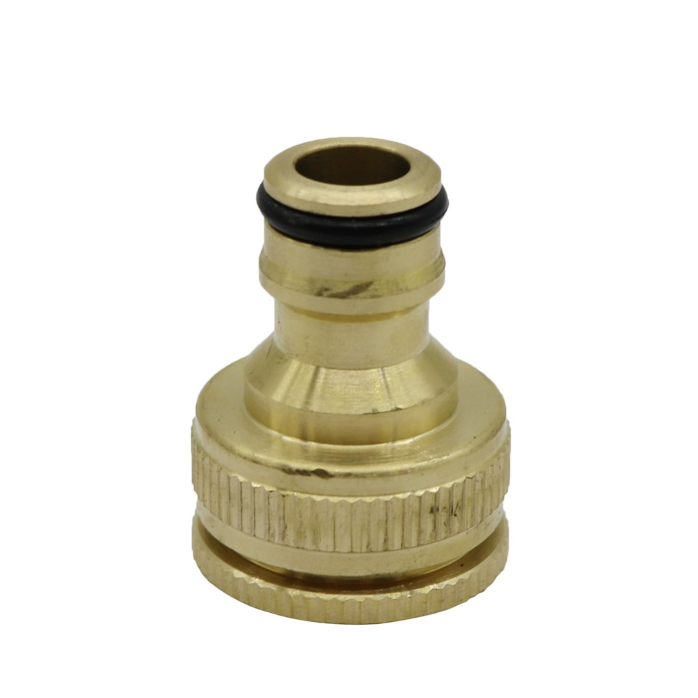 "1/2"",3/4"",1"" Thread Brass Quick connector Agriculture tools Garden Watering Adapter Durable Joint Drip Irrigation Fittings 1 Pcs 1"