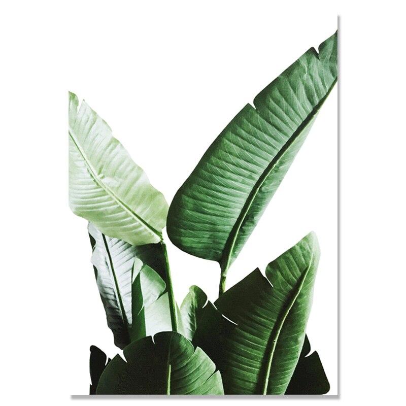 Oturma Odası Için duvar Resimleri Yeşil Bitki Nordic Poster Duvar - Ev Dekoru - Fotoğraf 4