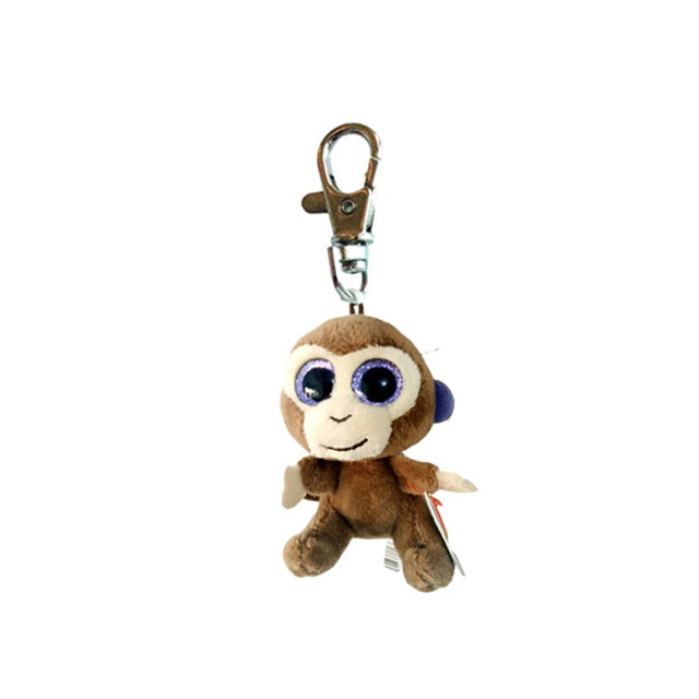 35320a32742 Ty Beanie Boos Coconut Clip the Monkey Keychain Plush Stuffed Animal  Collectible Doll Toy Without Heart Tag-in Stuffed   Plush Animals from Toys    Hobbies ...