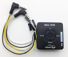 2017 New arrive Hawk eye mini DVR built-in battery can record video for FPV multicopter quadcopter drone 5v 800ma