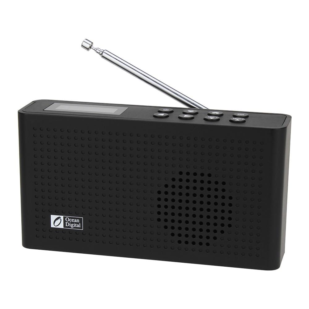 DAB +/WiFi/FM/UPnP/DLNA Oceano WR-26 Multi-idioma Do Menu Digital de Rádio Portátil Internet bluetooth 2000 mAh Da Bateria