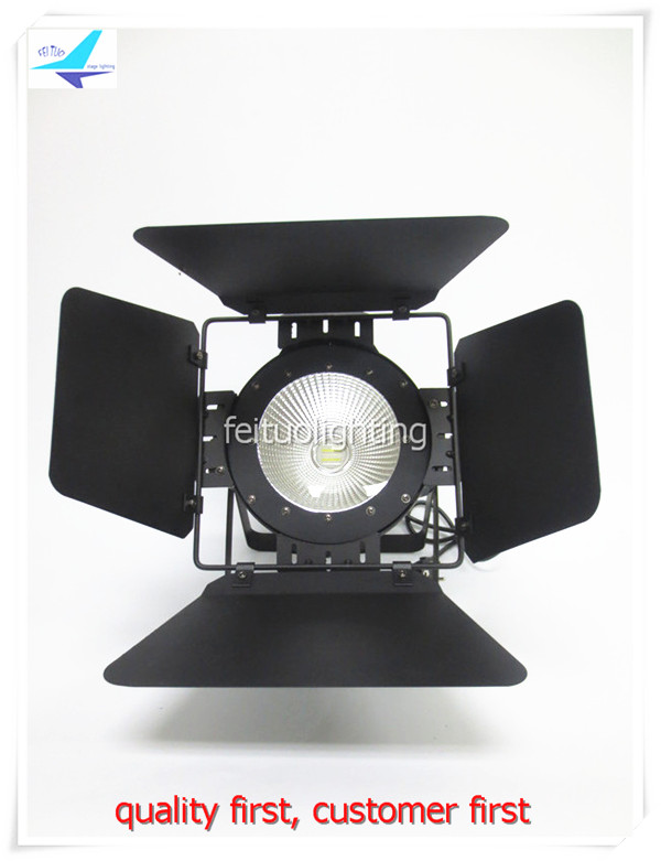 free shipping 8Xlot Stage 150W COB Spot LED Par Light Sound Active Aluminium DJ Warm White