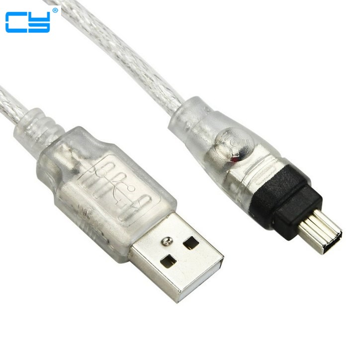 Firewire Cable 1.5 Ft IEEE 1394a 400 Mbps Firewire Cable 24K 6P to 6P FIREWIRE IEEE1394 CABLE 6P6P