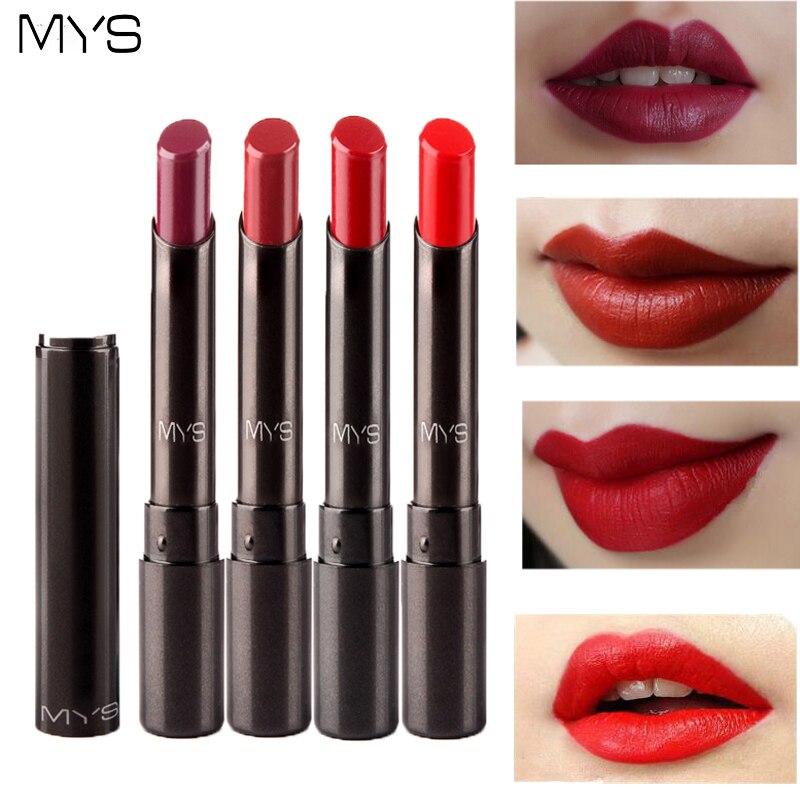 2016 New Arrival MYS brand beauty matte lipstick long