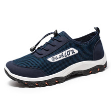 Autumn Winter Sneakers Men Shoes Casual Outdoor Hiking Comfortable Mesh 2019 Fashion Breathable Flats For Men Trainers zapatilla