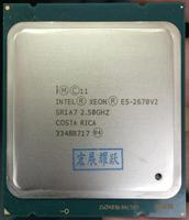 Intel Xeon серверный процессор E5 2670 V2 E5 2670 V2 Процессор 2,5 LGA 2011 SR1A7 десять ядер настольный процессор e5 2670V2 100% нормальной работы
