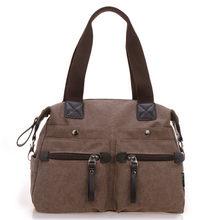 a8df7f52f1 2018 women s handbag canvas bag big size casual cross-body shoulder bags  vintage travel packet