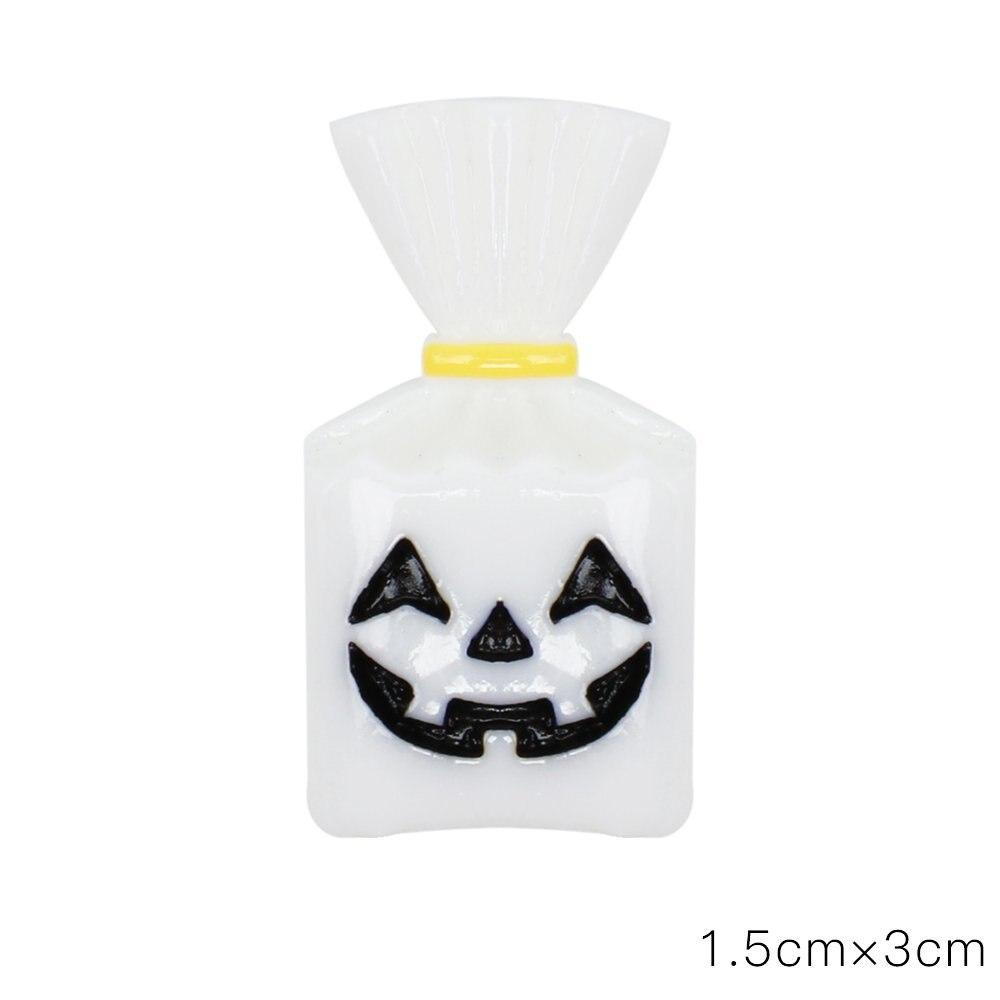 Купить xugar 10 шт плоские пластмассовые кабошоны со скелетом тыквой