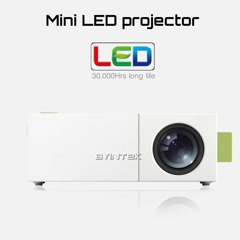USB TF AV DC5V-in LCD LED Mini Video BYINTEK ML219 Ev Sineması Taşınabilir HDMI Projektör Proyector Projetor Projektor Beamer