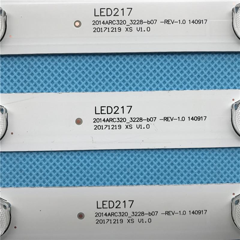 Image 3 - LED backlight strip 7 lamp For GRUNDIG 32 VLE 5504 BG 32 inch TV 2014ACR320 BEKO B32 LB 5537 B32 L 4511 ALTUS AL32LBM410-in Industrial Computer & Accessories from Computer & Office