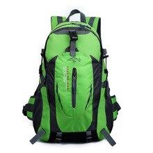 35l männer & frauen wasserdichte nylon rucksack tasche rucksack bergsteigen tasche reisetaschen back pack