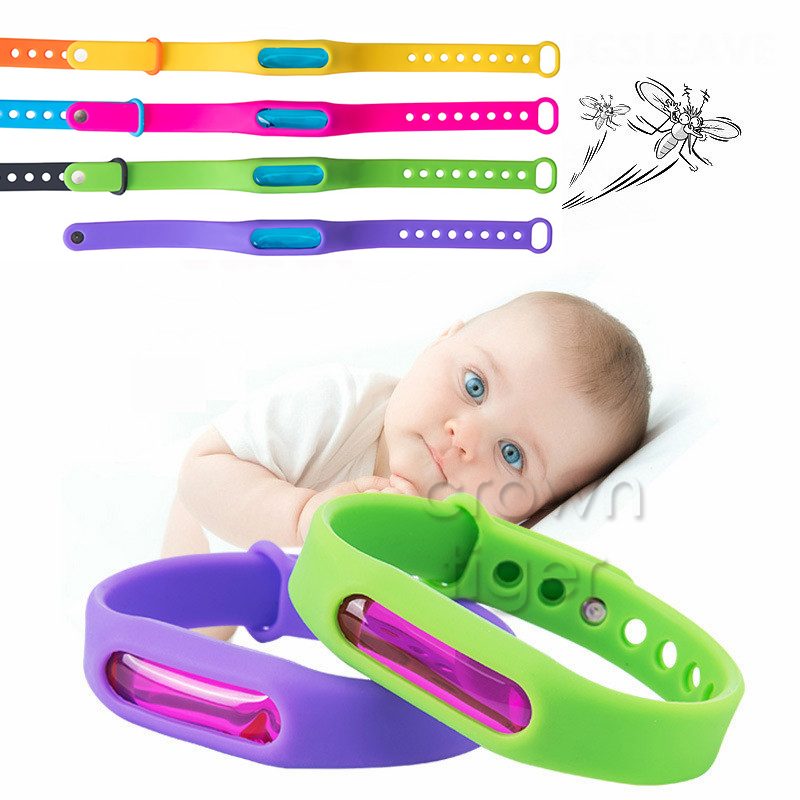 summer Outdoor Non-toxic Mosquito Pest Bracelet Mosquito Repellent Bracelet for Baby adults children kids boys girls skin care