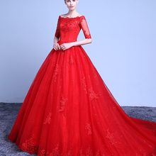 cecelle Red Ball Gown Wedding Dresses Gowns